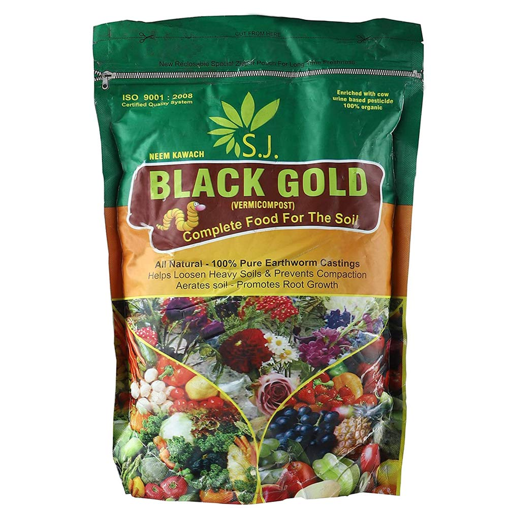 kraft-seeds-vermicompost-for-all-kinds-of-plants-1kg-black-gold-enriched-with-cow-urine-100-organic