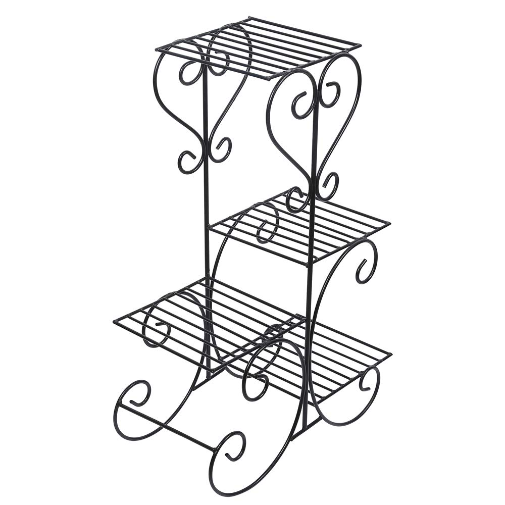 Strong Metal Pot Stand for 4 Planters