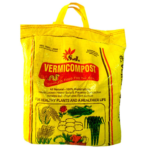 Vermicompost Black Gold Complete Food for Soil by S.J Organics - 10 KG