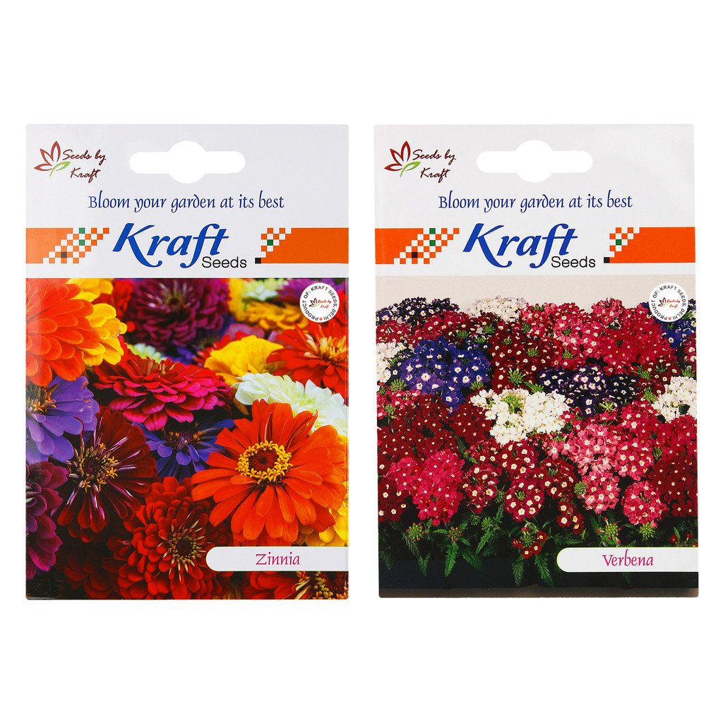 kraft-seeds-zinnia-mix-and-verbena-mix-2-in-1-flower-seed-combo-pack-of-2