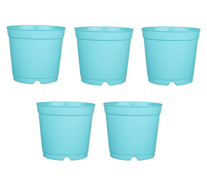 6-inch-plastic-seedlings-orange-colour-nursery-pot-planter-container-seed-starting-pot-5-pots