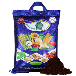 Vermicompost for all Kind of Plants by Kraft Seeds - 4 KG