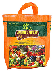 Kraft Seeds Black Gold Complete Food Enriched with Cow Urine Organic Vermicompost for All Kinds of Plants (2kg)