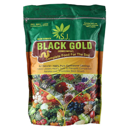 Kraft Seeds Vermicompost for All Kinds of Plants – 1kg | Black Gold | | Enriched with Cow Urine | 100% Organic