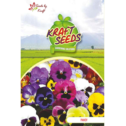 PANSY MIX Flower Seeds Pack for Home and Balcony Gardening