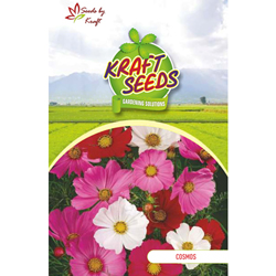COSMOS SENSATION MIX Flower Seeds Pack for Home and Balcony Gardening