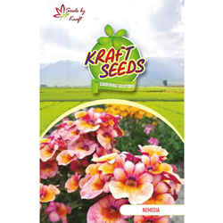 NEMESIA K-S SPL MIX Flower Seeds Pack for Home and Balcony Gardening