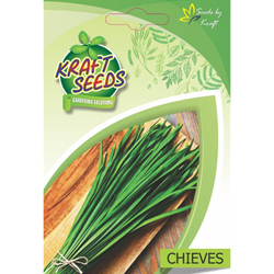 Chives Herb Seeds NON-GMO Seeds Pack for Home and Balcony Gardening